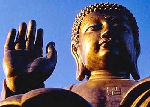Svastica-Buddha